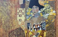 Reproduction Klimt 80x80  65 €